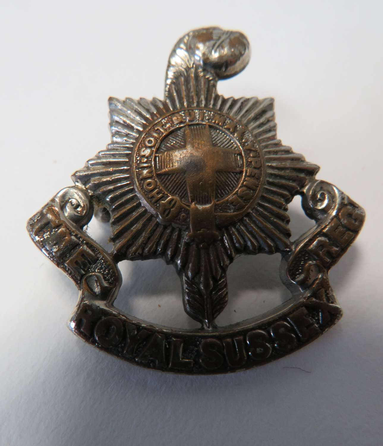 Royal Sussex Officers Cap Badge