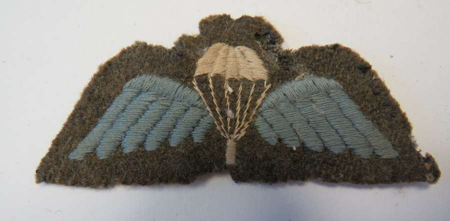 WW 2 Pattern Parachute Qualification Wings