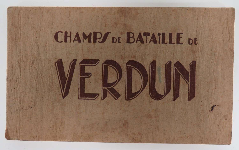 Pre WW 2 Verdun Postcard Booklet