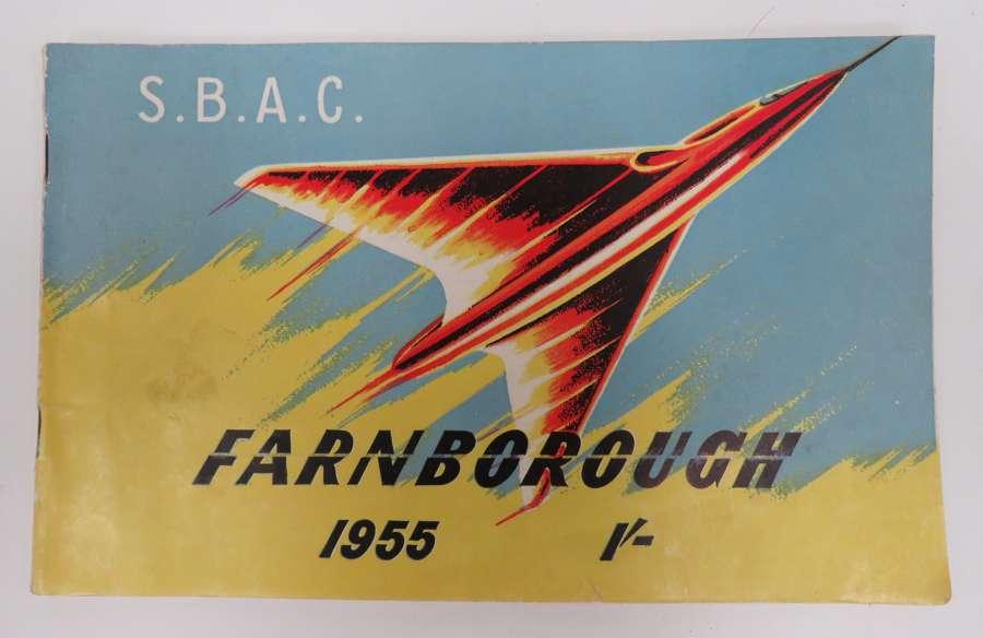 1955 Farnborough Air Show Program