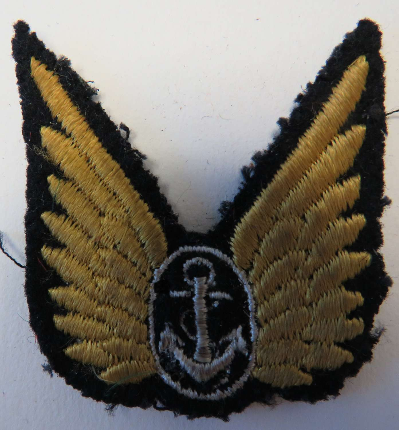 WW 2 Fleet Air Arm Observer Cuff Wings