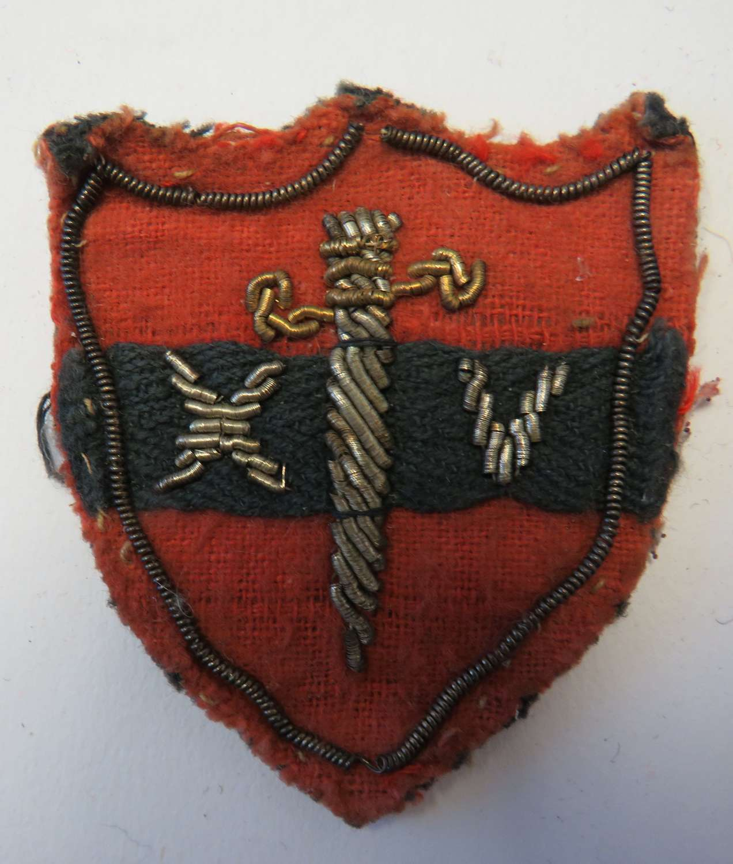 WW 2 . 14th Army Formation Badge