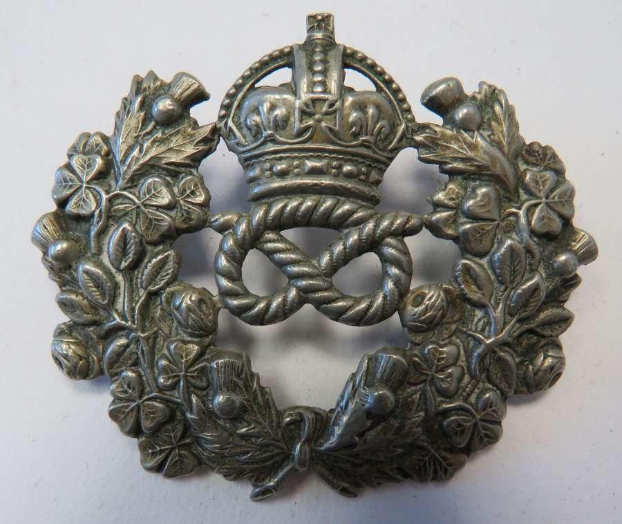 Post 1901 Staffordshire Police Badge