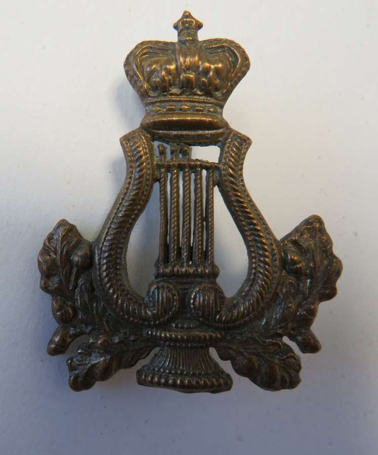 Victorian Musicians Arm Badge