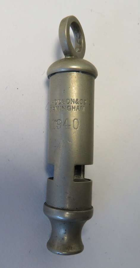 1940 Dated Military Whistle