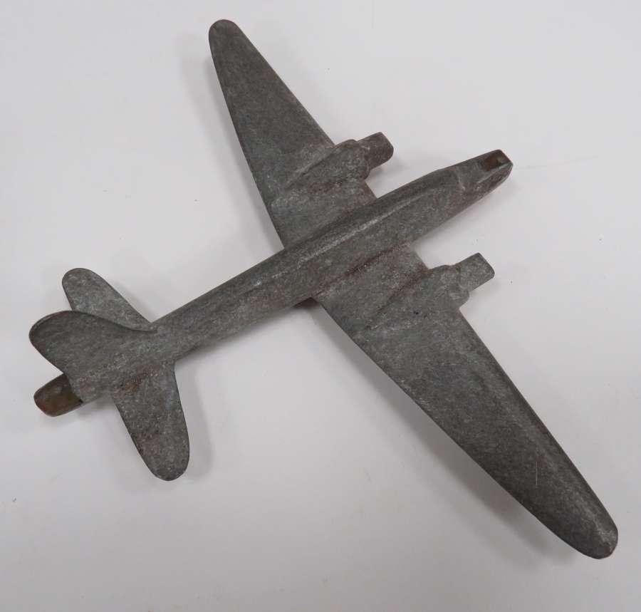 WW 2 Alloy Cast Model Aircraft