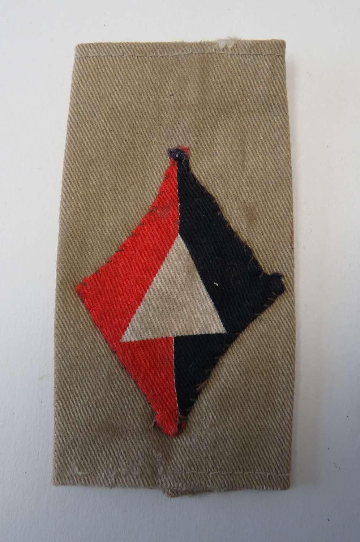 1st Division Royal Artillery Slip on Title