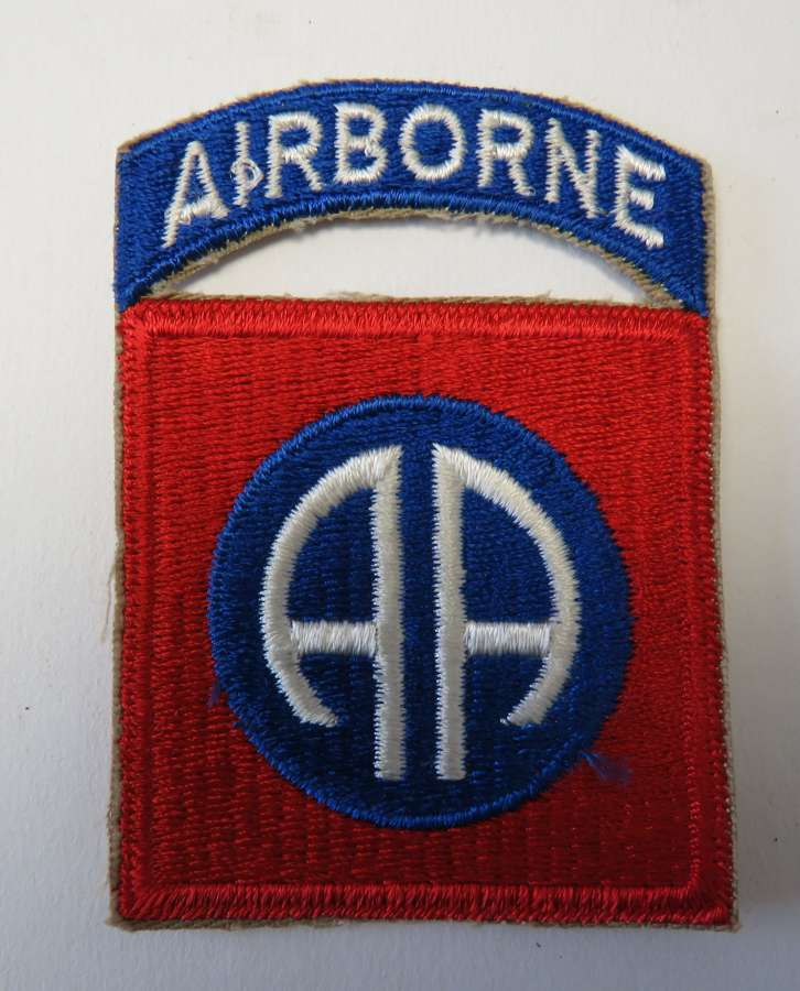 American 82nd Airborne Formation Badge