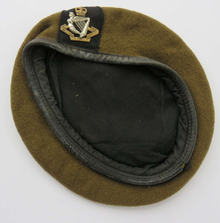 Post 1953 Irish 8th Kings Hussars Beret