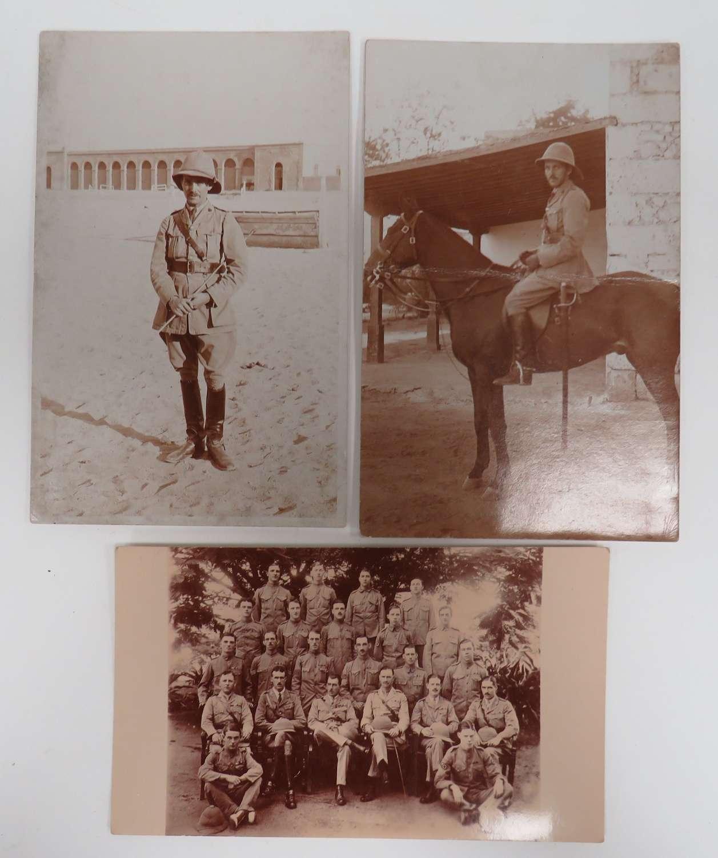 Set of 3 WW 1 Officer Photos