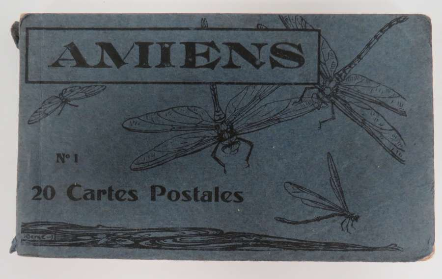 WW 1 Amiens Postcard Booklet