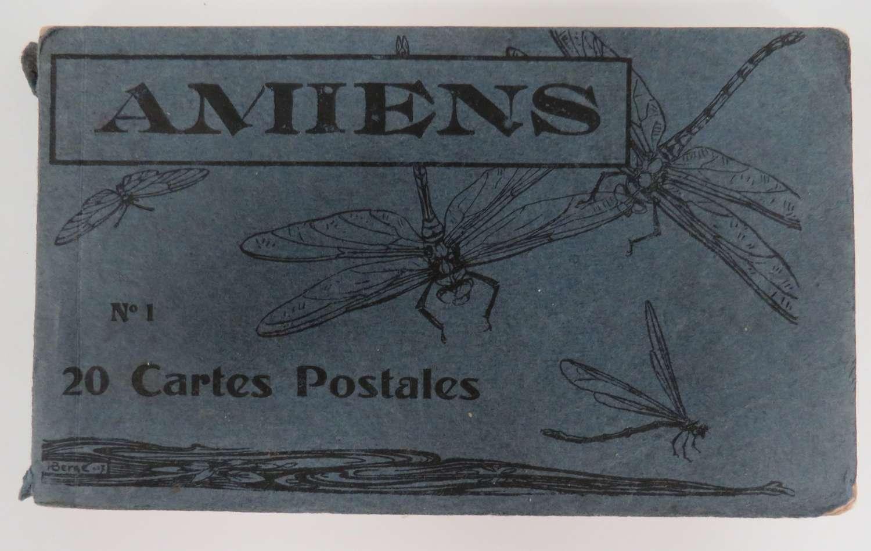 WW 1 Amiens Postcard Booklet