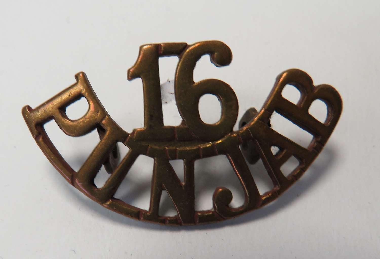 Indian 16th Punjab Shoulder Title