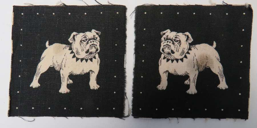 Pair of Eastern Command Formation Badges