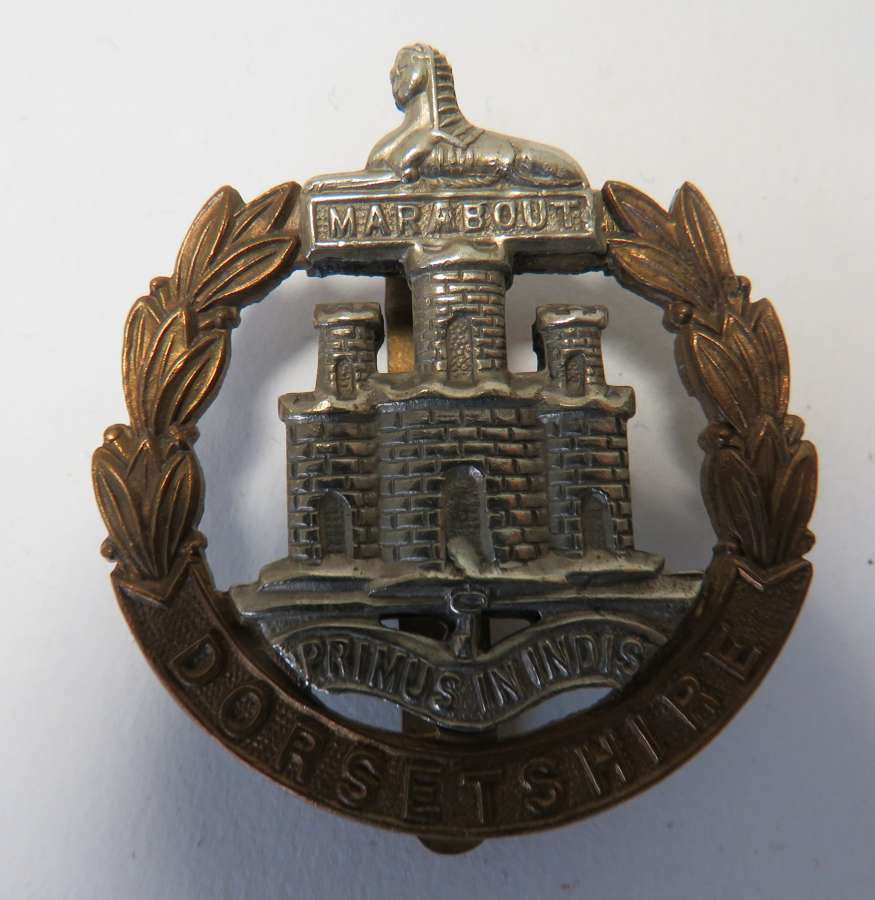Dorsetshire Other Ranks Cap Badge