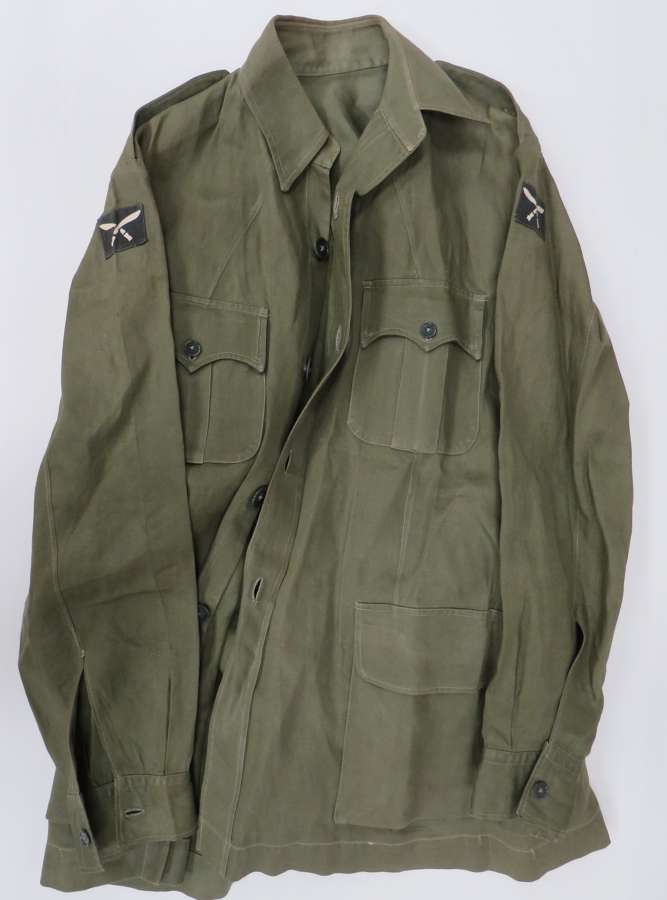 63rd Gurkha Brigade Officers Tropical Jungle Bush Jacket