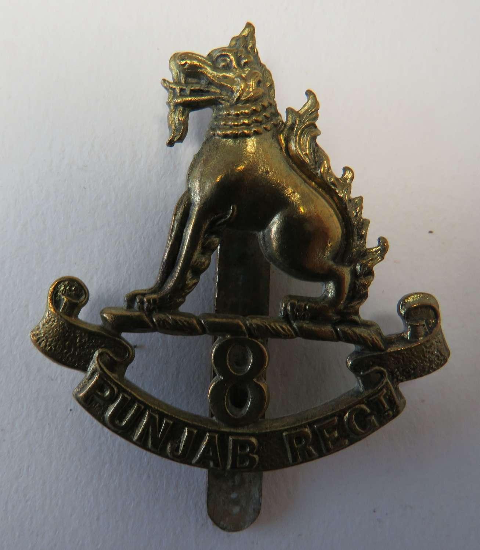 8th Punjab Regiment Cap Badge