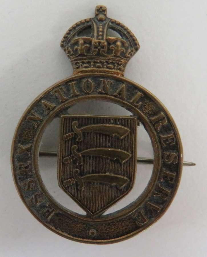 Essex National Reserve Lapel Badge