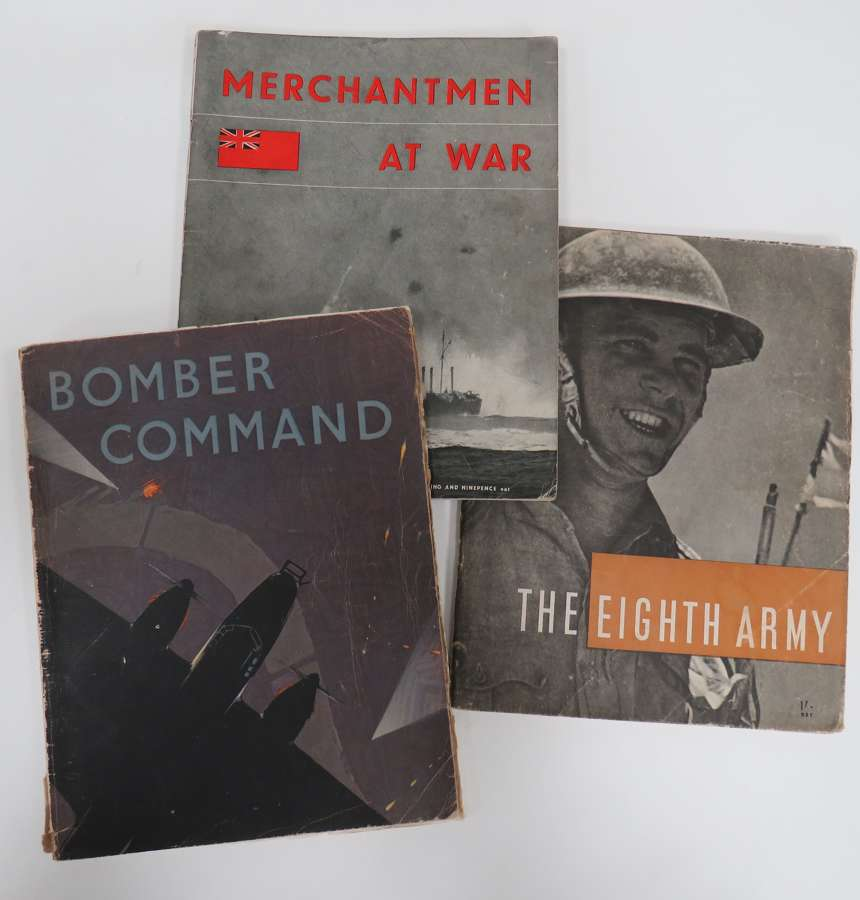 Set of 3 WW 2 Produced Booklets