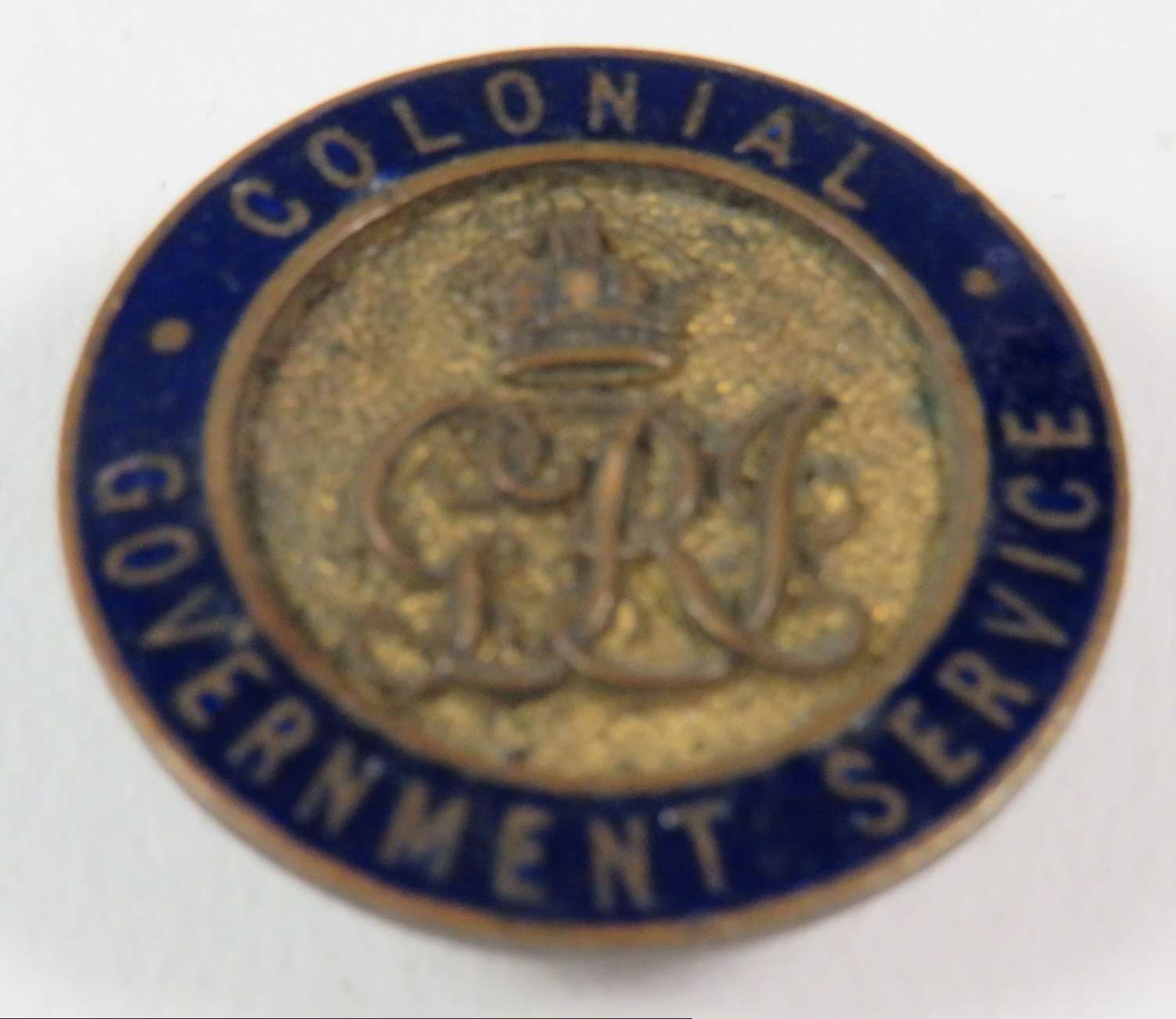 Colonial Government Service Lapel Badge