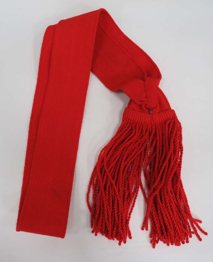 Senior N.C.Os Red Sash