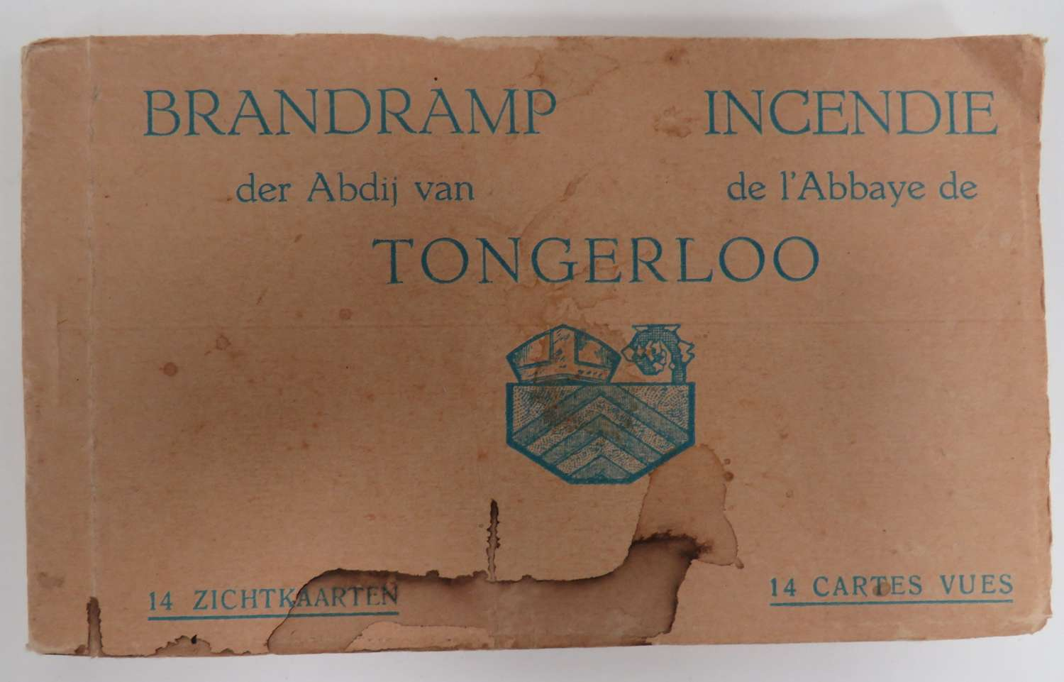 WW 1 Tongerloo Postcard Booklet