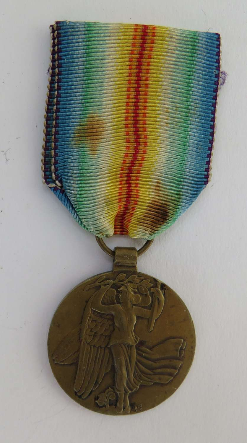 Allied Victory Medal for Czechoslovakia 1914-1919