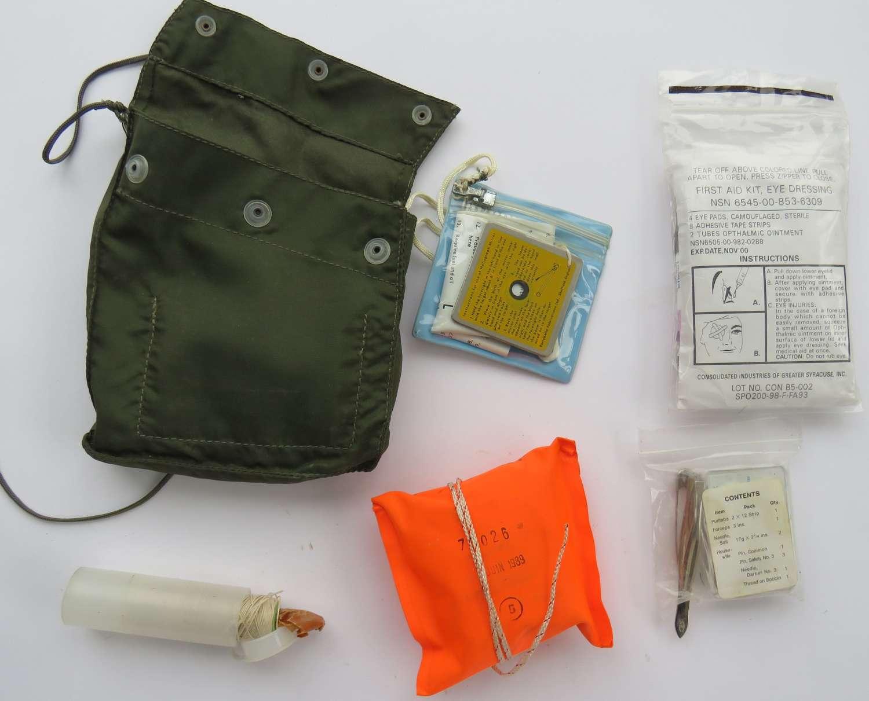 Post War British R.A.F Survival Kit
