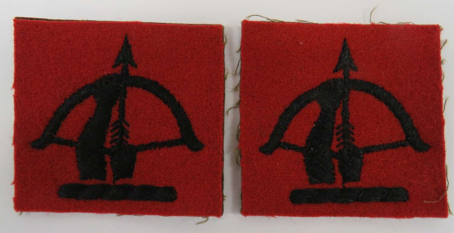 Pair of Anti Aircraft Command Formation Badges