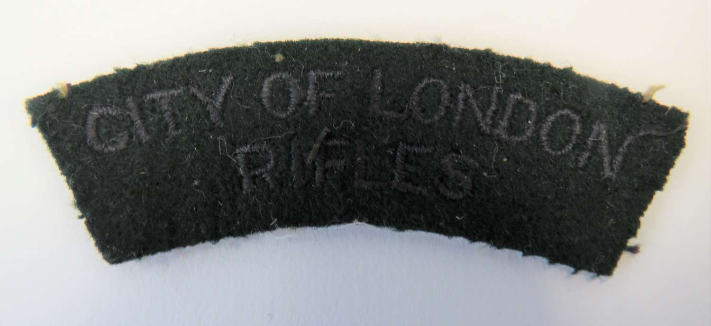 City of London Rifles Title