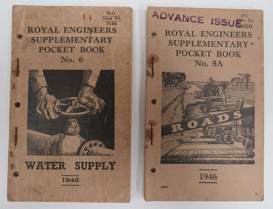 Two Post War Royal Engineers Instruction Booklets