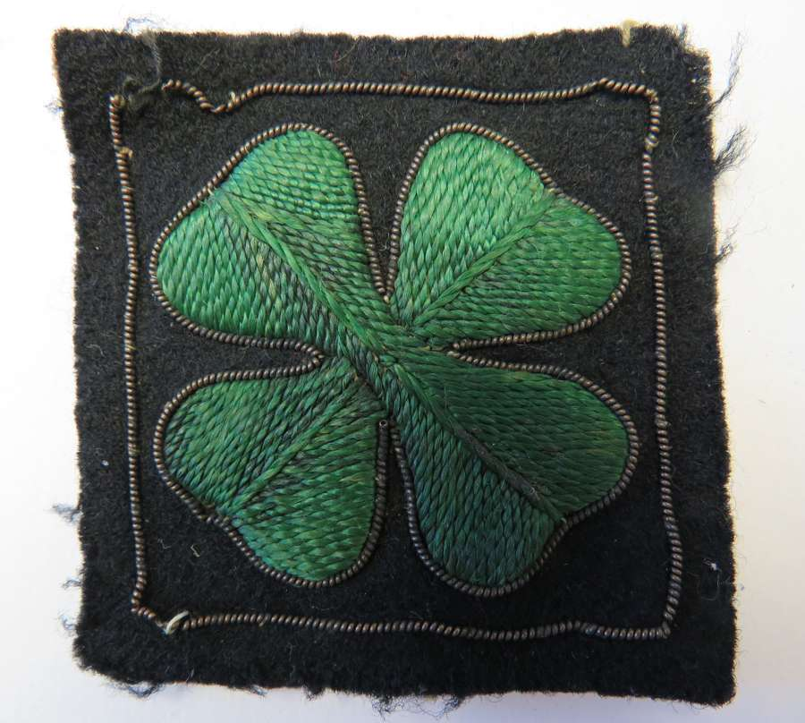 Netherlands Dutch 4th Division Formation Badge