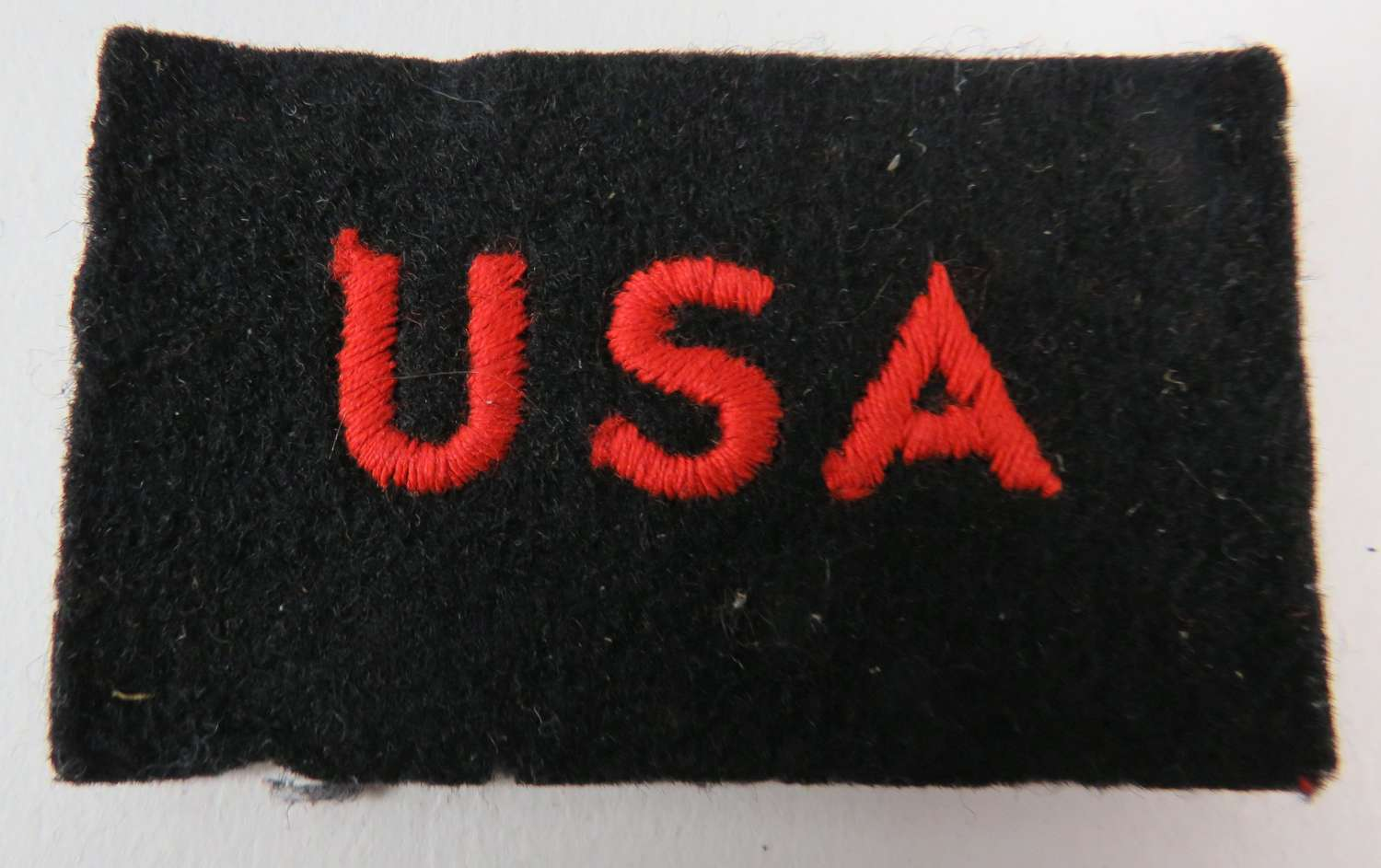 U.S.A Shoulder Title