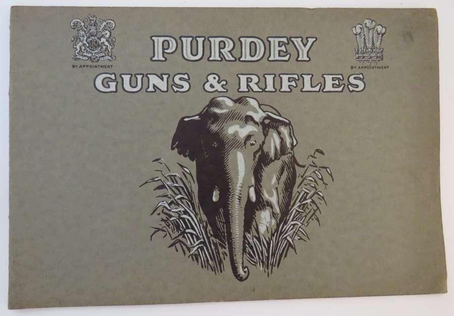Purdey Guns and Rifles Trade Book