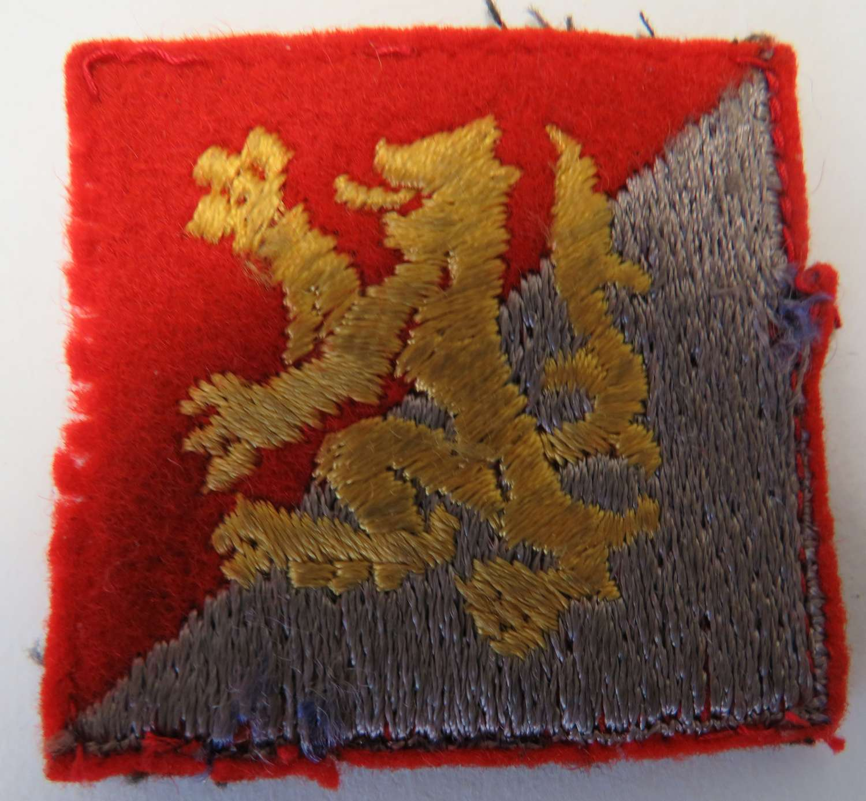 Scottish Formation Badge