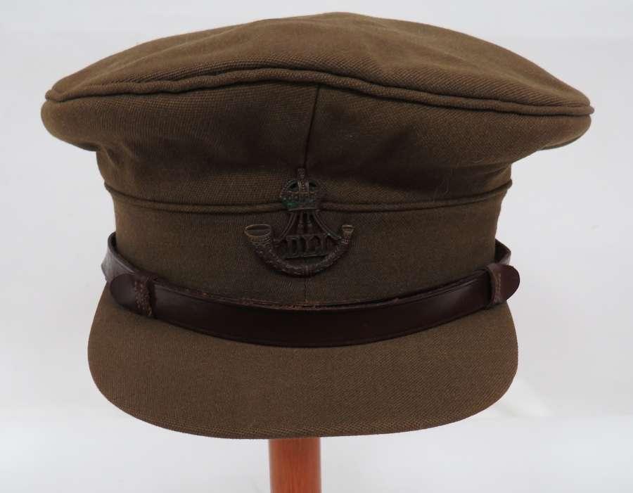 Durham Light Infantry Officers Service Dress Cap