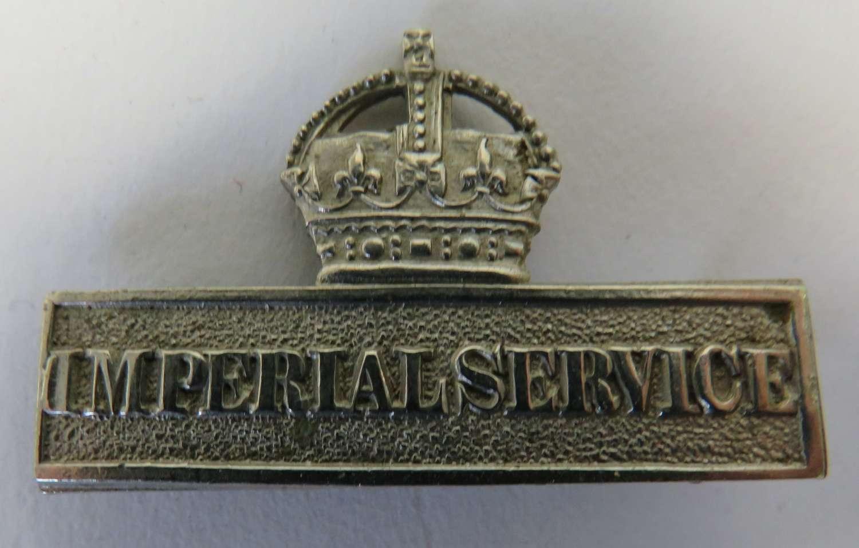 WW1 Imperial Service Bar