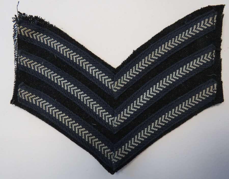 WW2 Royal Air Force Sergeant Stripe