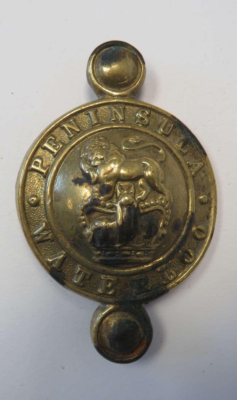 Post 1953 Cavalry Horse Bridle Badge