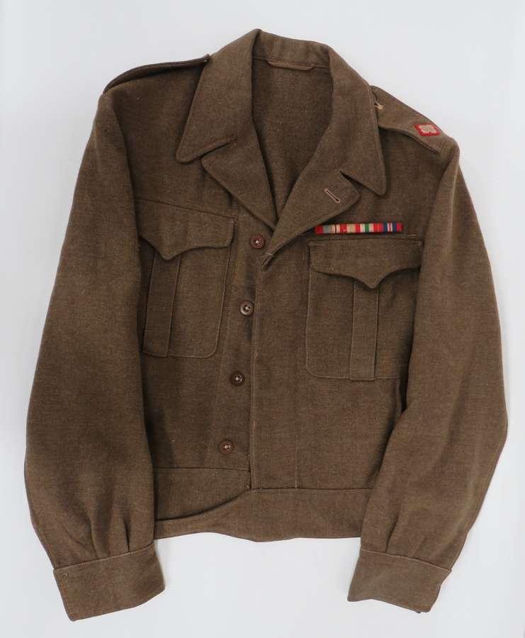 Canadian Officers Battledress Tunic