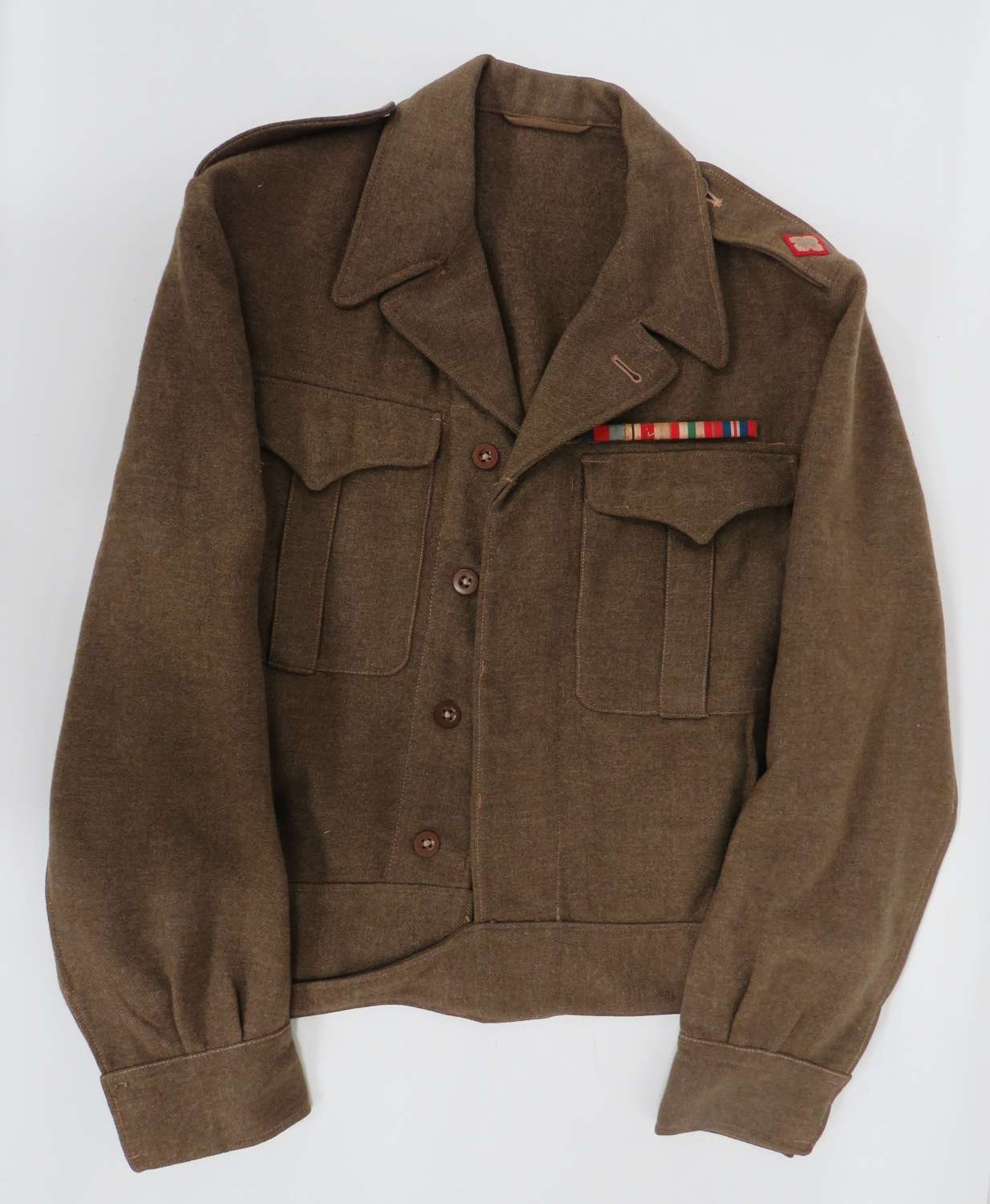 Canadian Officers Battledress Tunic