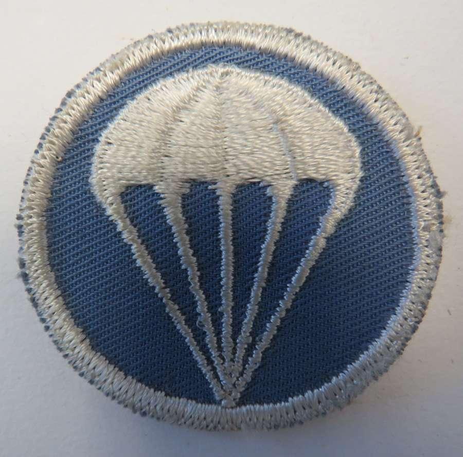 American Parachutist Garrison Cap Badge