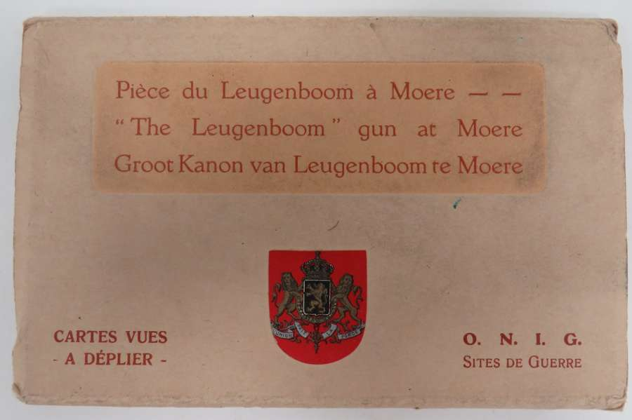 Leugenboom Gun at Moere Postcard Booklet
