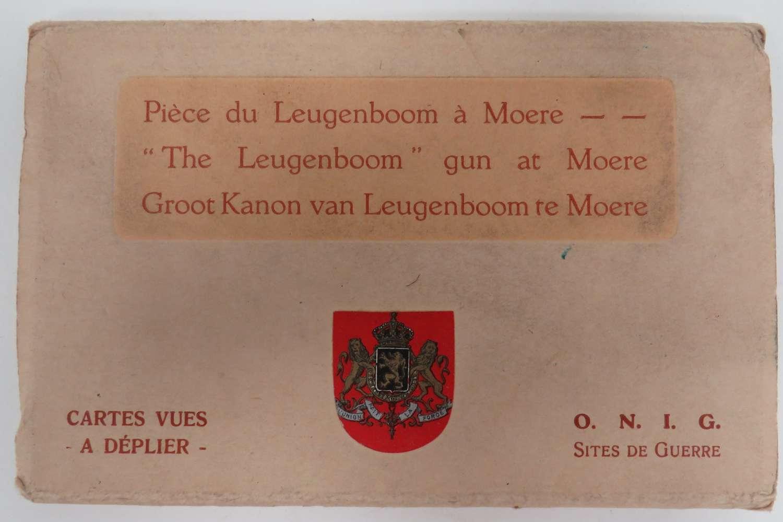 Leugenboom Gun at Moere Postcard Booklet