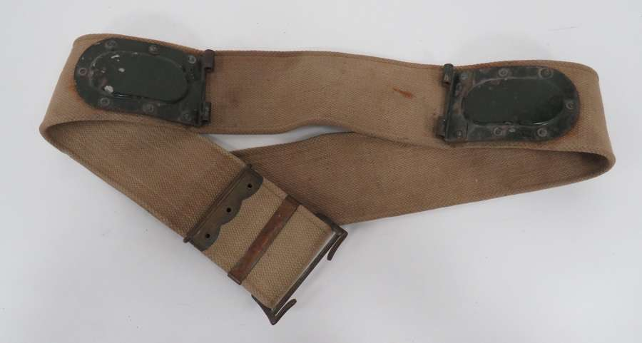 Rare WW2 Wireless Set No 18 Man-pack Radio Webbing Belt