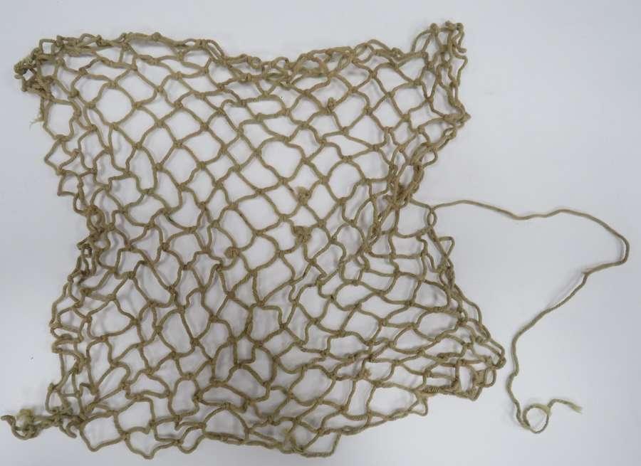WW2 Helmet Cammo String Net