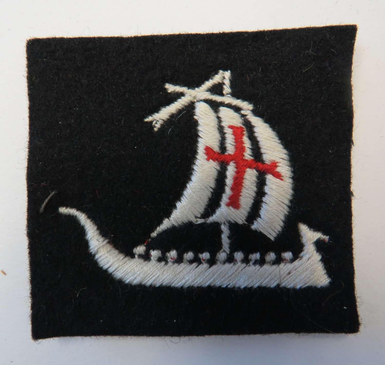 WW2 British 5th Corps Formation Badge