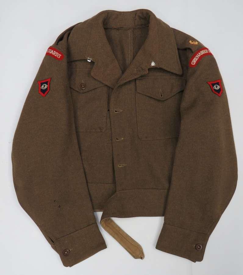 Grenadier Guards Officers Guards Armoured Battledress Jacket
