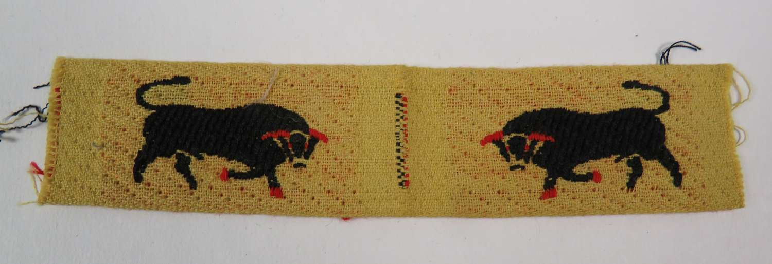Pair of 11th Armoured Division Formation Badges