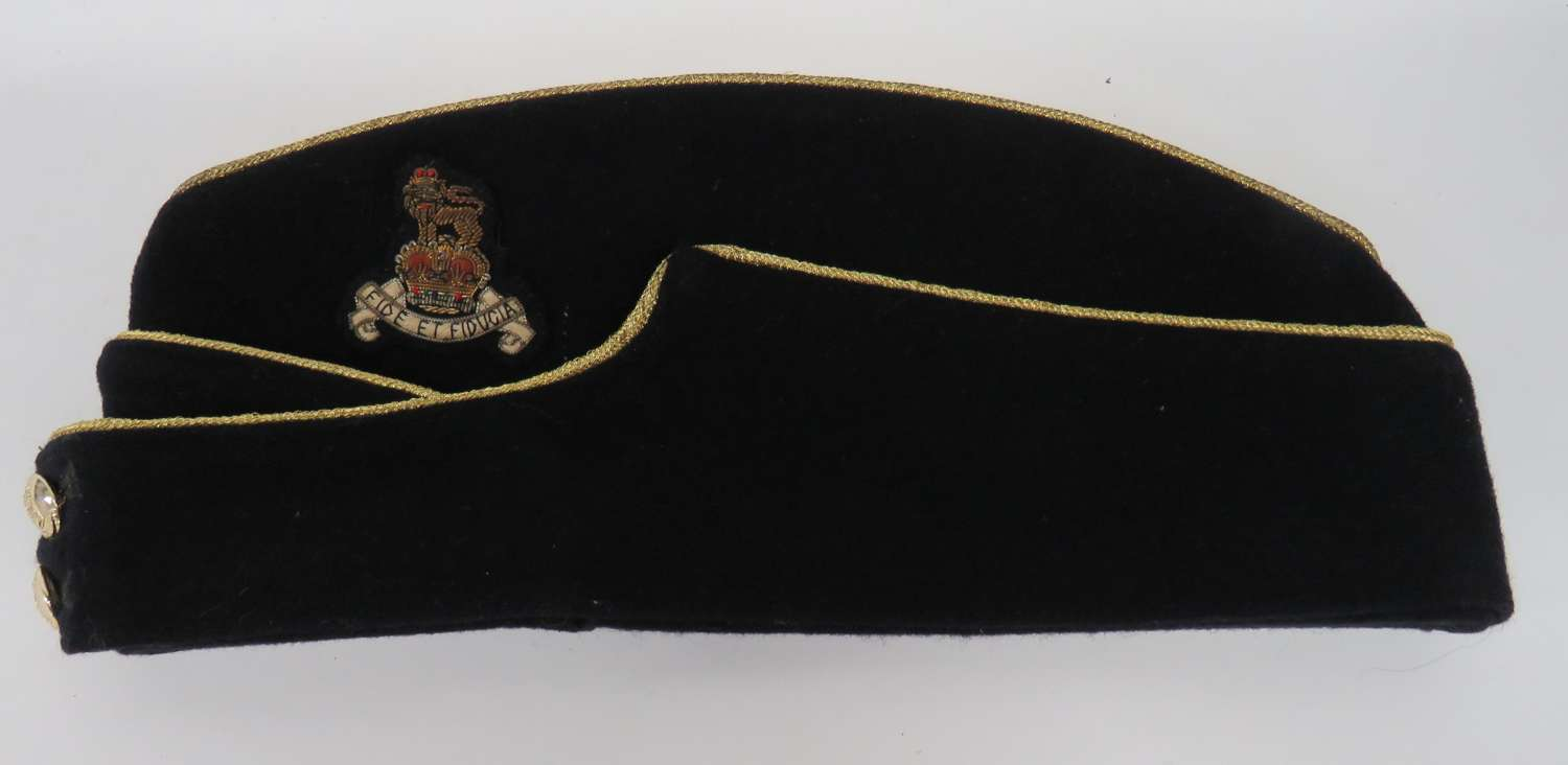 Post 1953 R.A.P.C Officers Coloured Field Service Cap